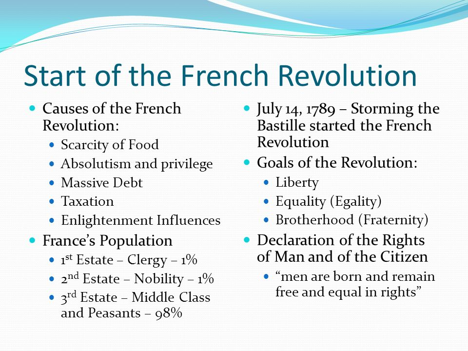 The French Revolution French Révolution française ʁevɔlysjɔ fʁɑsɛːz was a period of farreaching social and political upheaval in France and its