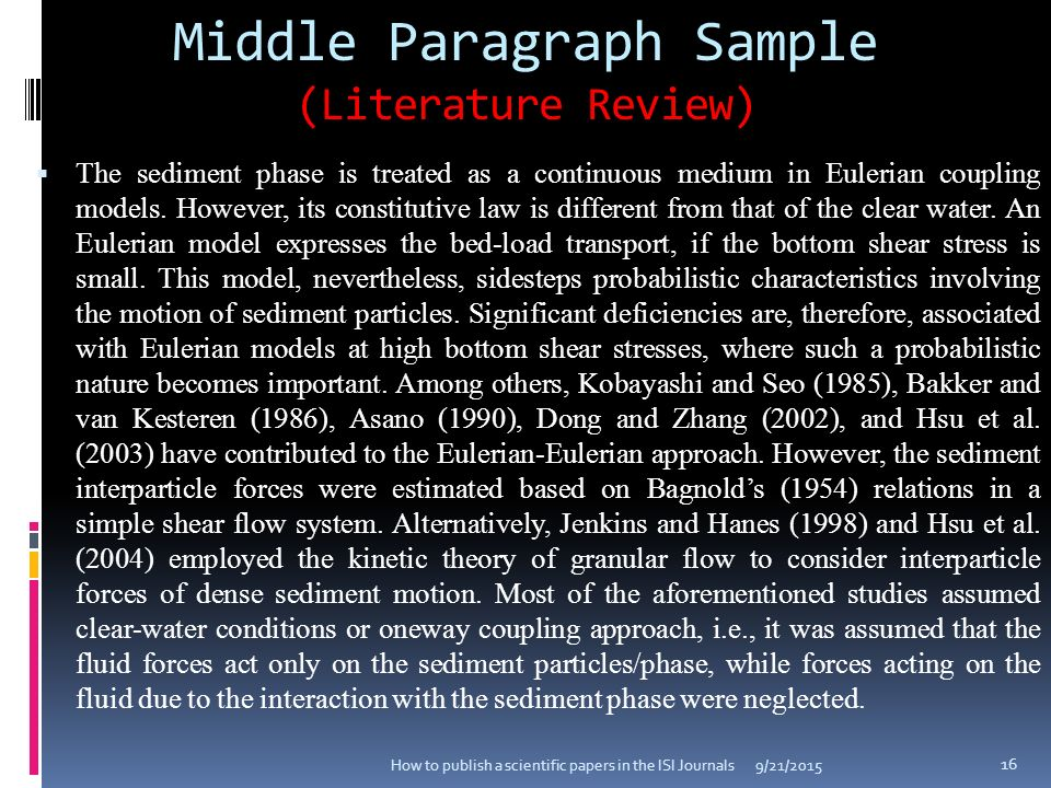 middle paragraphs no revision When marked between two paragraphs, you will likely need a sentence or two that shows the relationship between the topic of the first paragraph and the topic of the second when marked between two sentences, you likely need a phrase or introductory word (yet, but, however, similarly, etc) that makes the connection between your ideas clearer.
