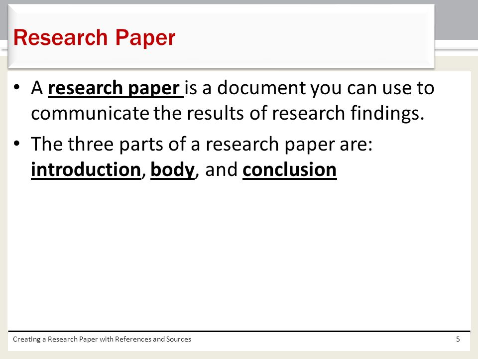 can you use you in a research paper