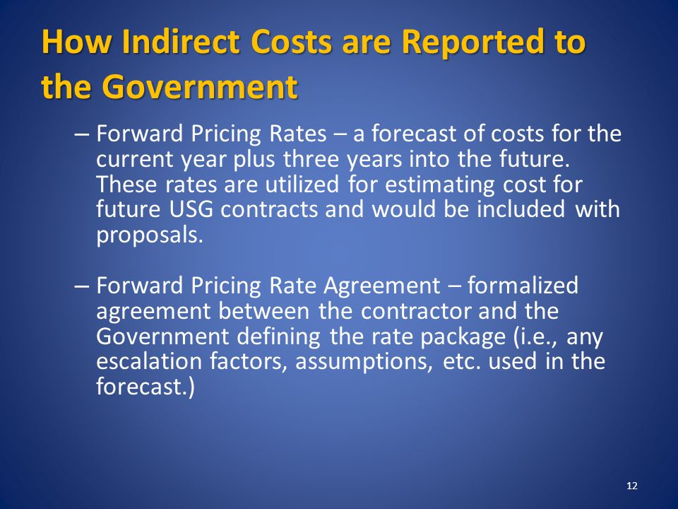 Overview Of Accounting Requirements In Government Contracting Ppt