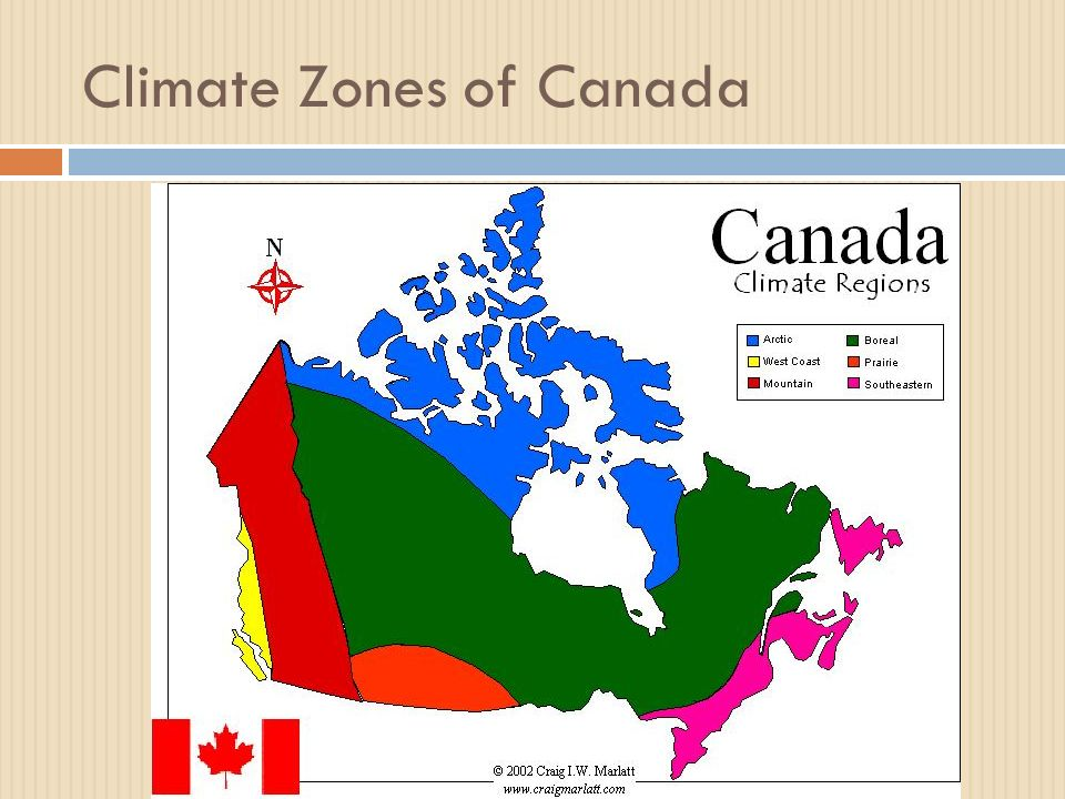 Map Of Canada Climate Zones.Climate Ppt Video Online Download