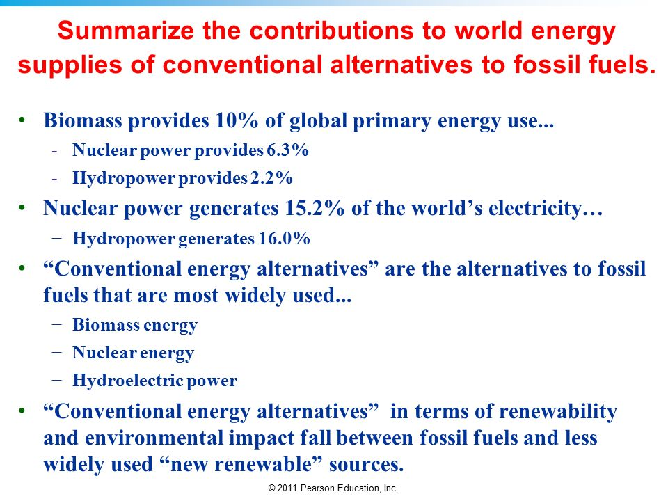 the advantages of turning to alternative energy and away from fossil fuels Abroad, he is seeking the formation of an alliance of fossil-fuel states led by the united states, russia, and saudi arabia, while attempting to isolate emerging renewable-energy powers like.