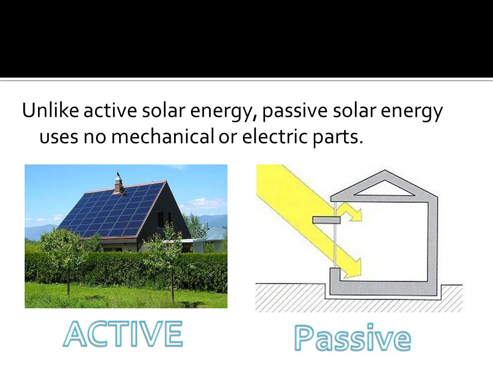 By: Travis Leiter Passive Solar Energy  - ppt video online