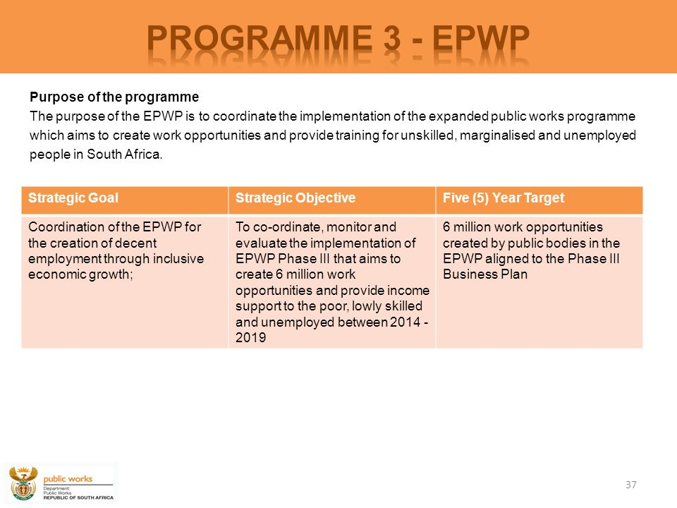 epwp phase 3 business plan