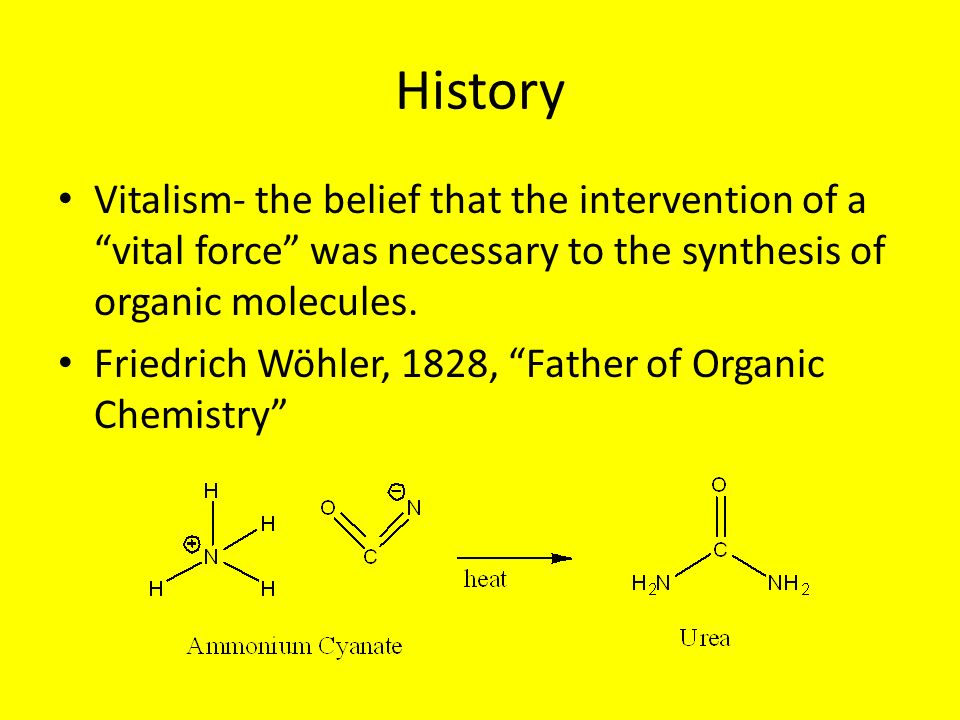 friedrich wohler vital force theory