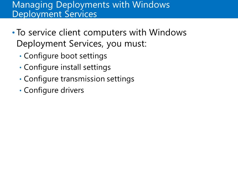Deploying and Maintaining Server Images - ppt video online