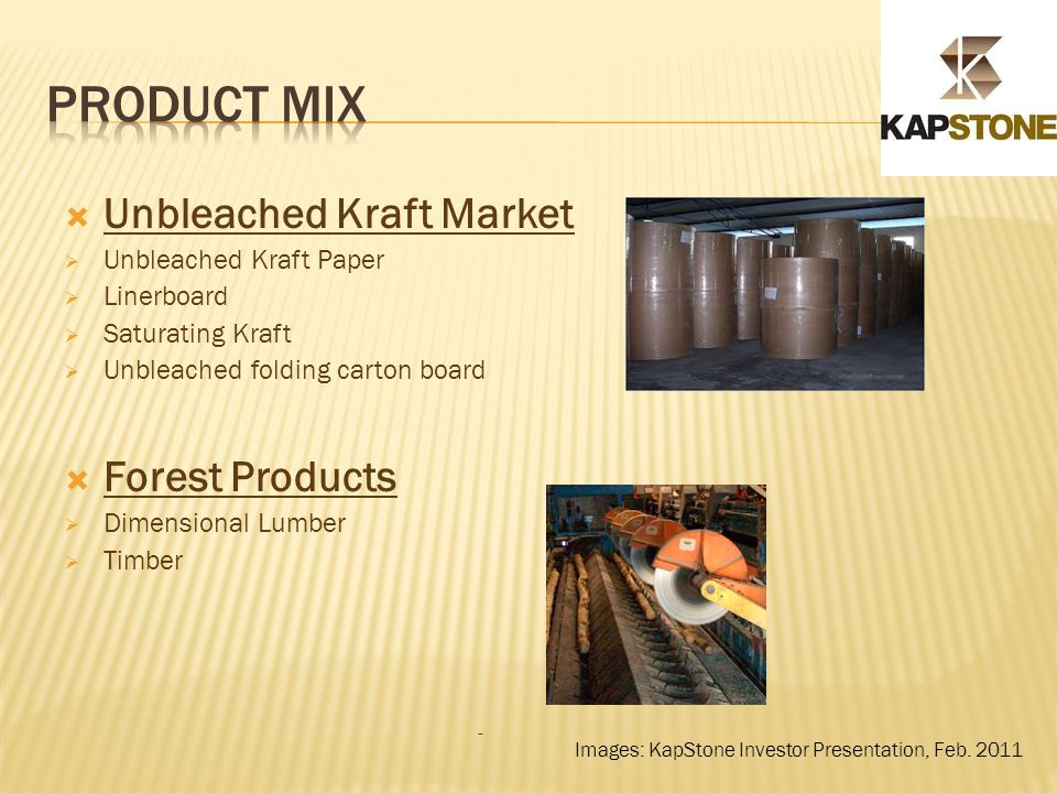 Kapstone Paper and Packaging Corporation - ppt video online