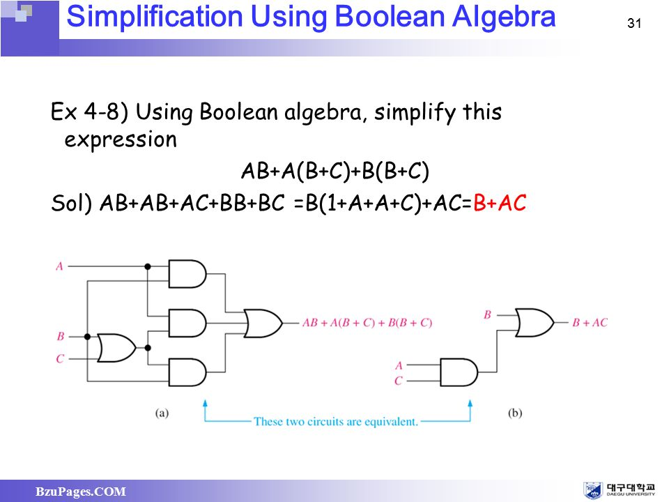 ch 4 boolean algebra and logic simplification ppt video online rh slideplayer com
