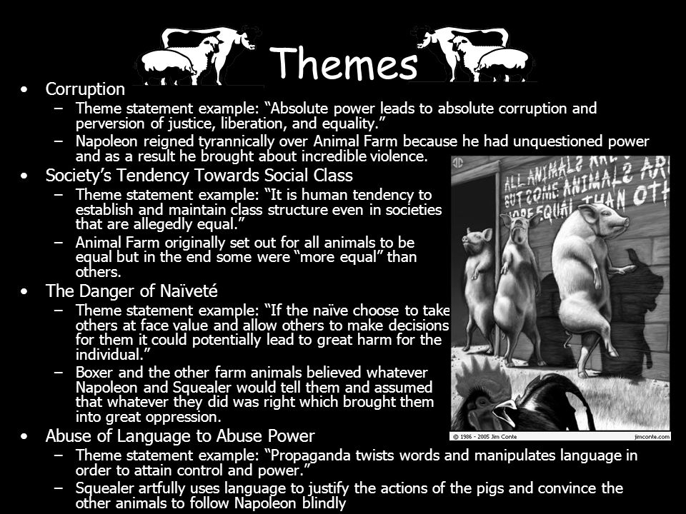 Animal Farm ENG2D Exam Review  - ppt download