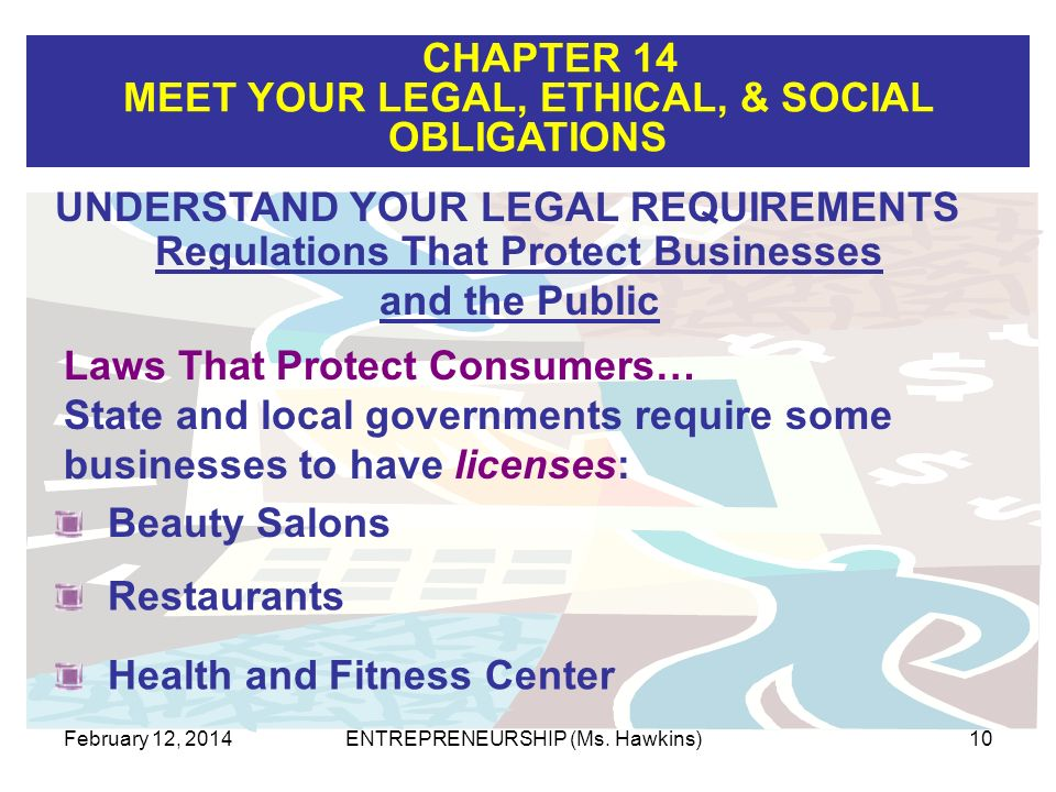 Regulations That Protect Businesses and the Public