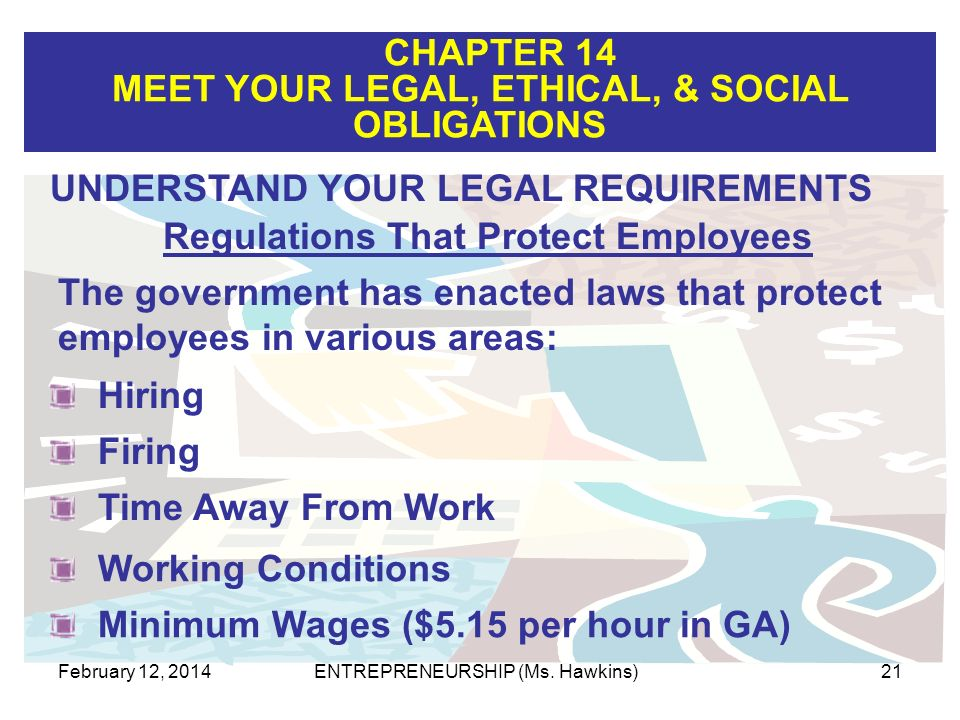 Regulations That Protect Employees