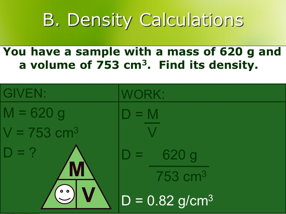 B. Density Calculations