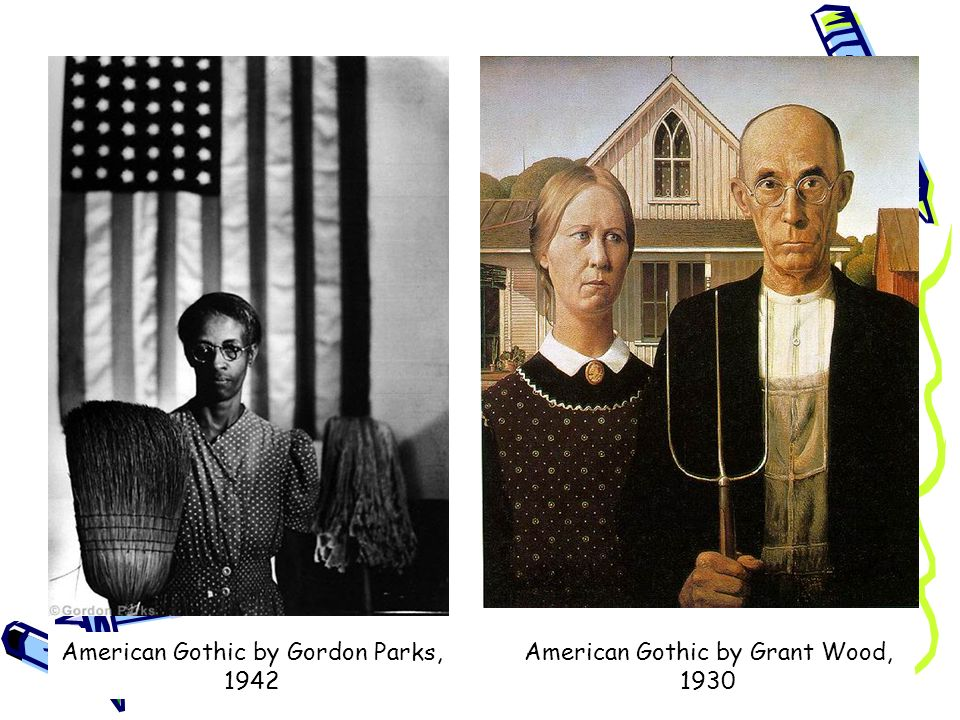 American Gothic By Gordon Parks 1942