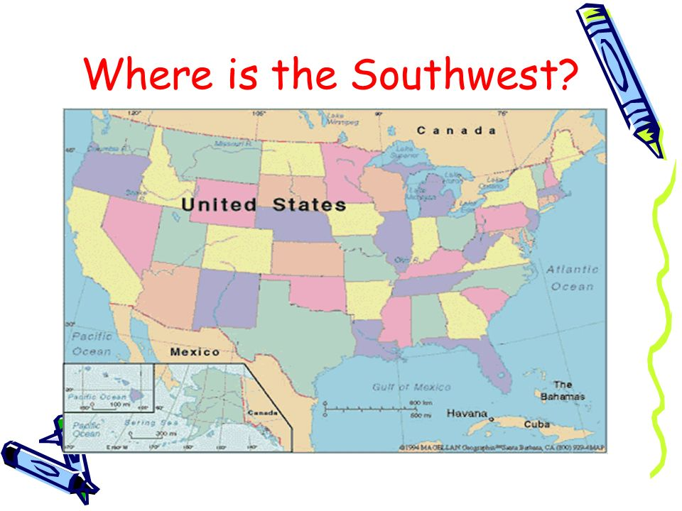 Where is the Southwest