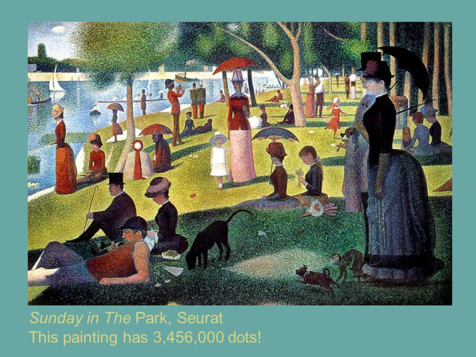 Sunday in The Park, Seurat