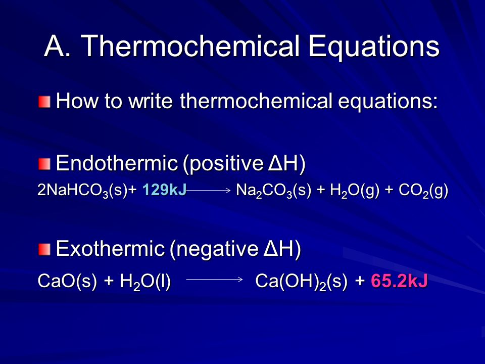 15 3 Thermochemical Equations - ppt video online download