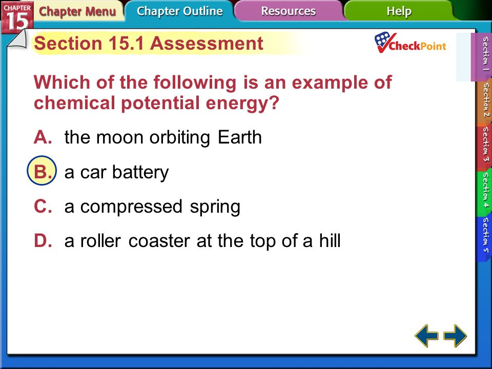 A B C D Section 15.1 Assessment