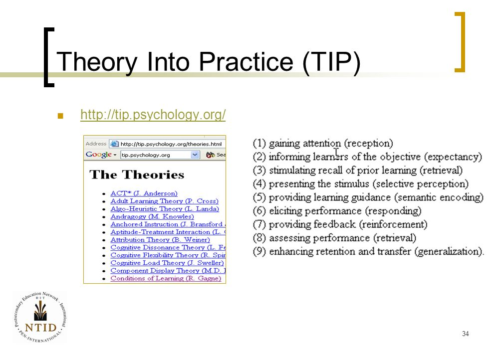 adapting theory into practice example admission What happens when you move from one culture to another in this lesson, we will discuss the different stages of adapting to a new culture, also known as the theory of.