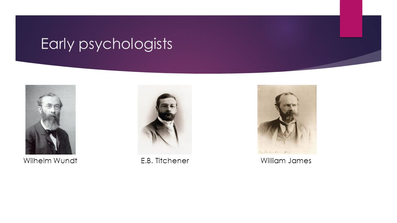 wundt and titchener believed that psychology should