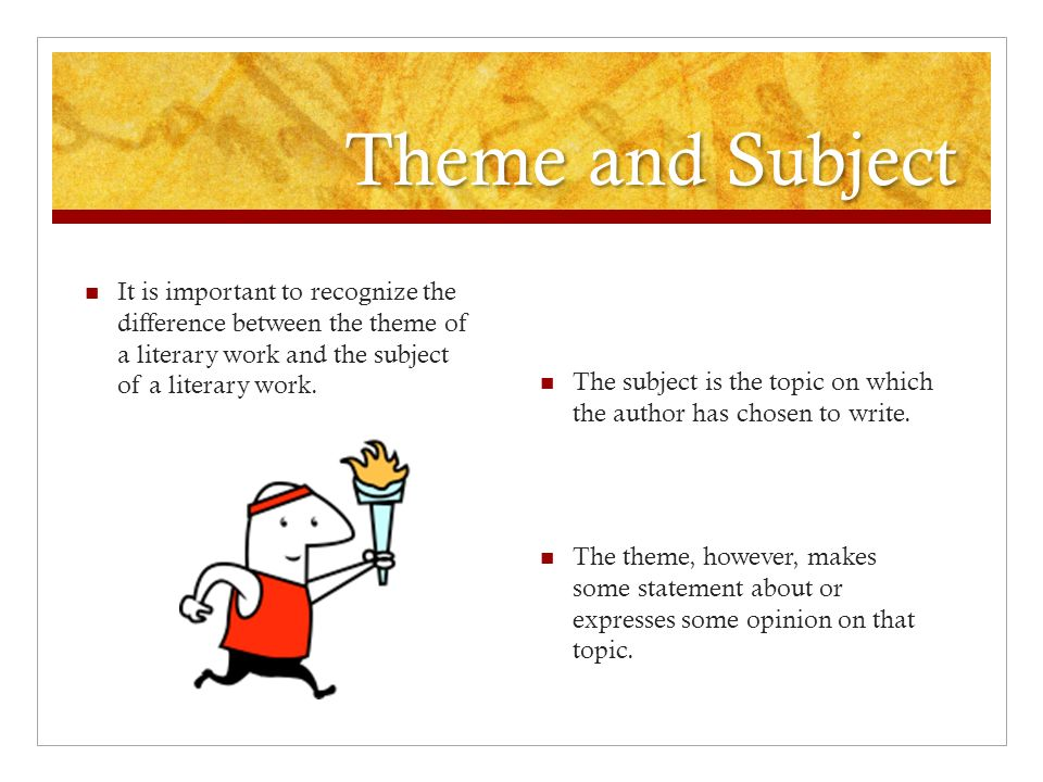 difference between topic and subject