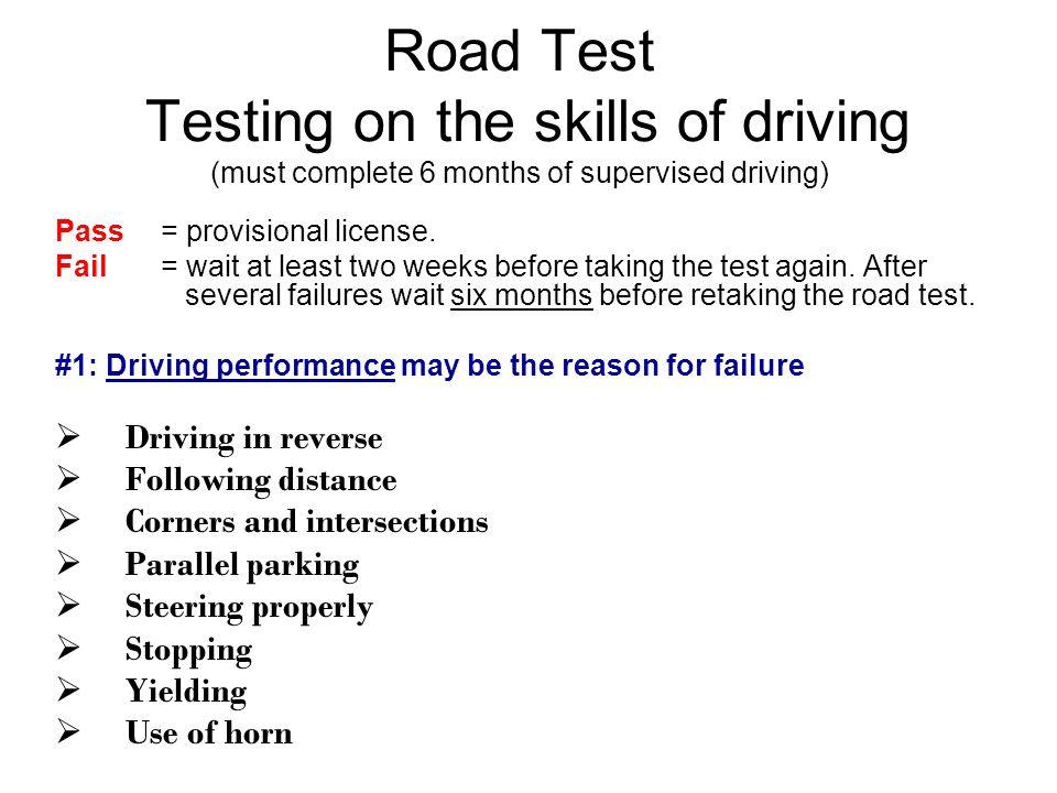nj drivers test parallel parking distance