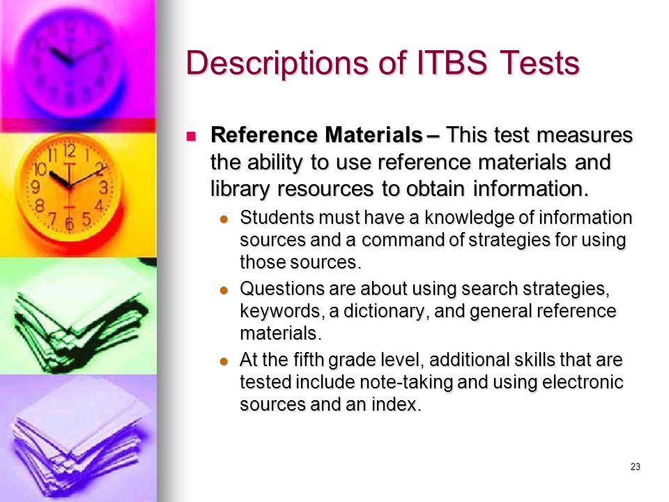ITBS Interpretation Parent Workshop - ppt video online download