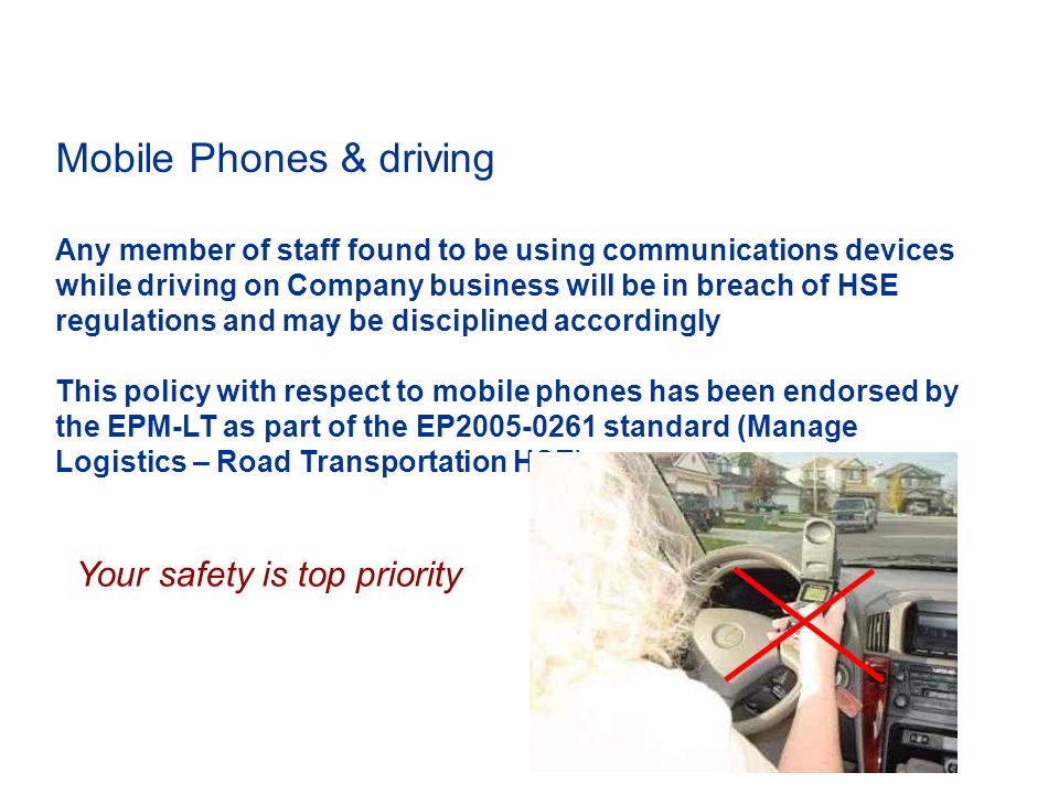 Mobile Phones & driving - ppt download