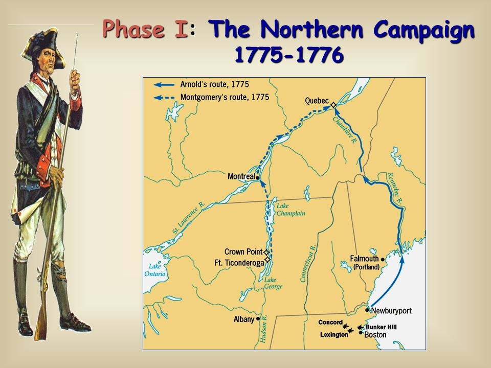 Phase I: The Northern Campaign 1775-1776