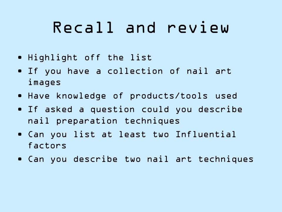 Unit 108 Nail Art Application Ppt Download