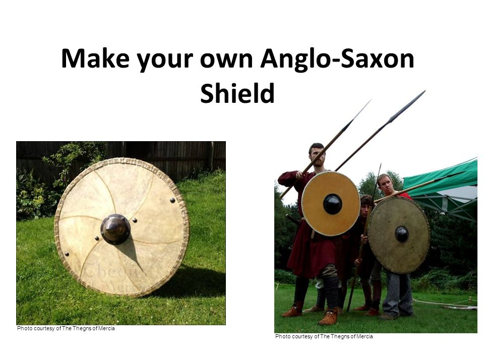 Make your own Anglo-Saxon Shield
