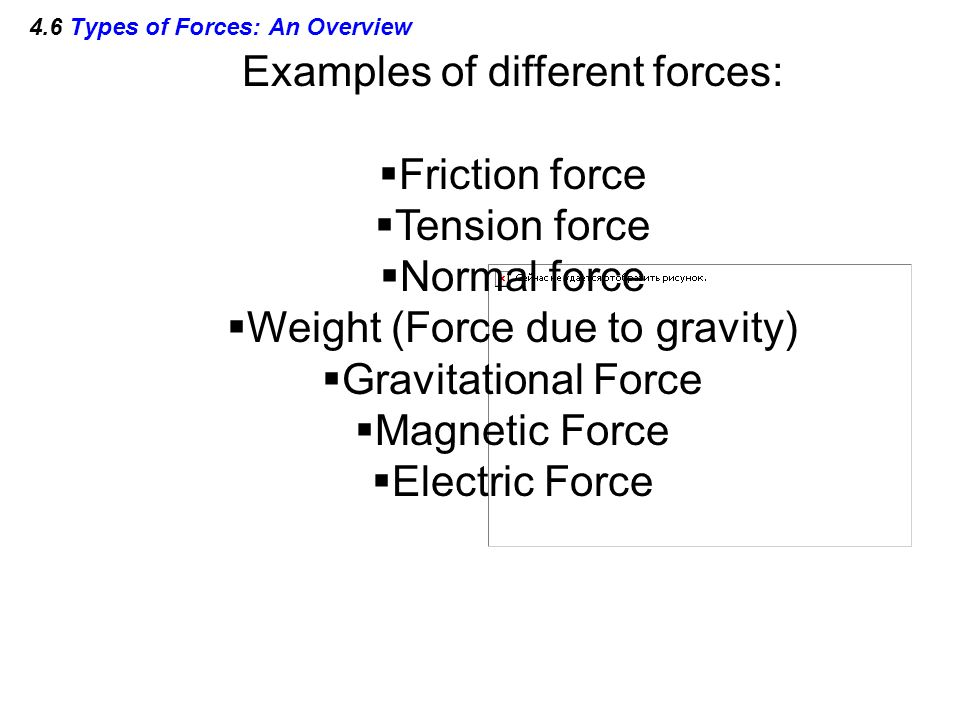 4.6 Types of Forces: An Overview
