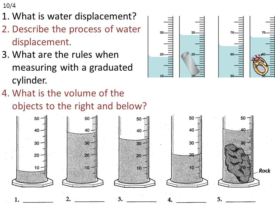 Graduated cylinder worksheet 4th grade