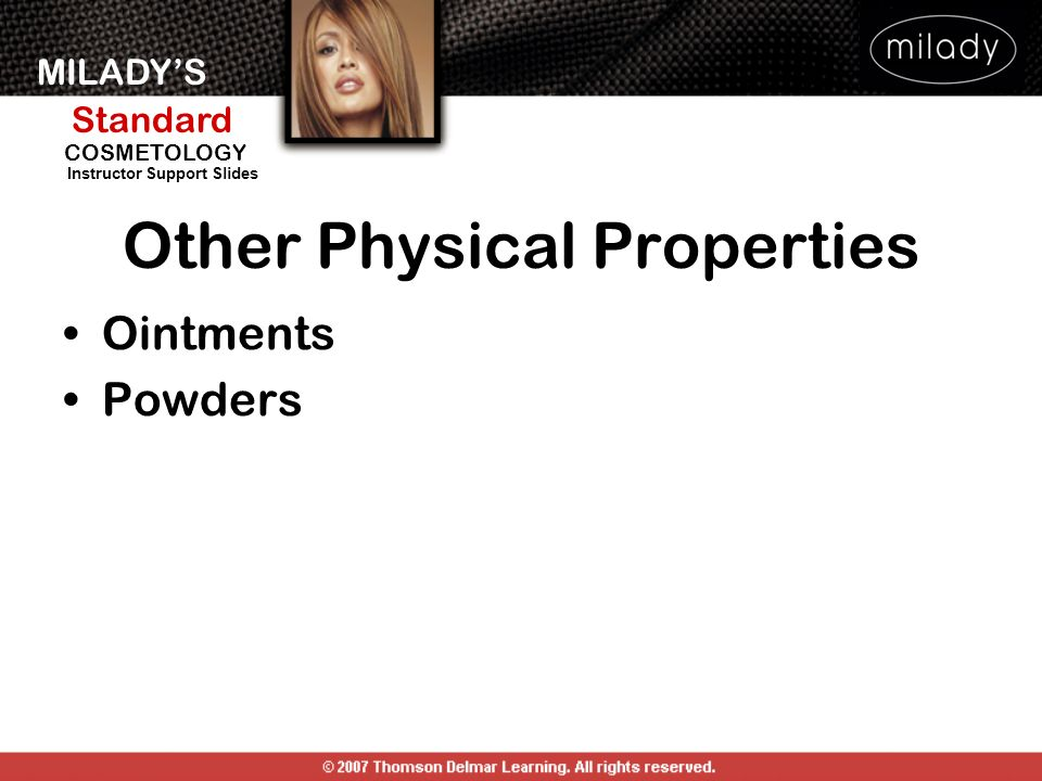 Other Physical Properties