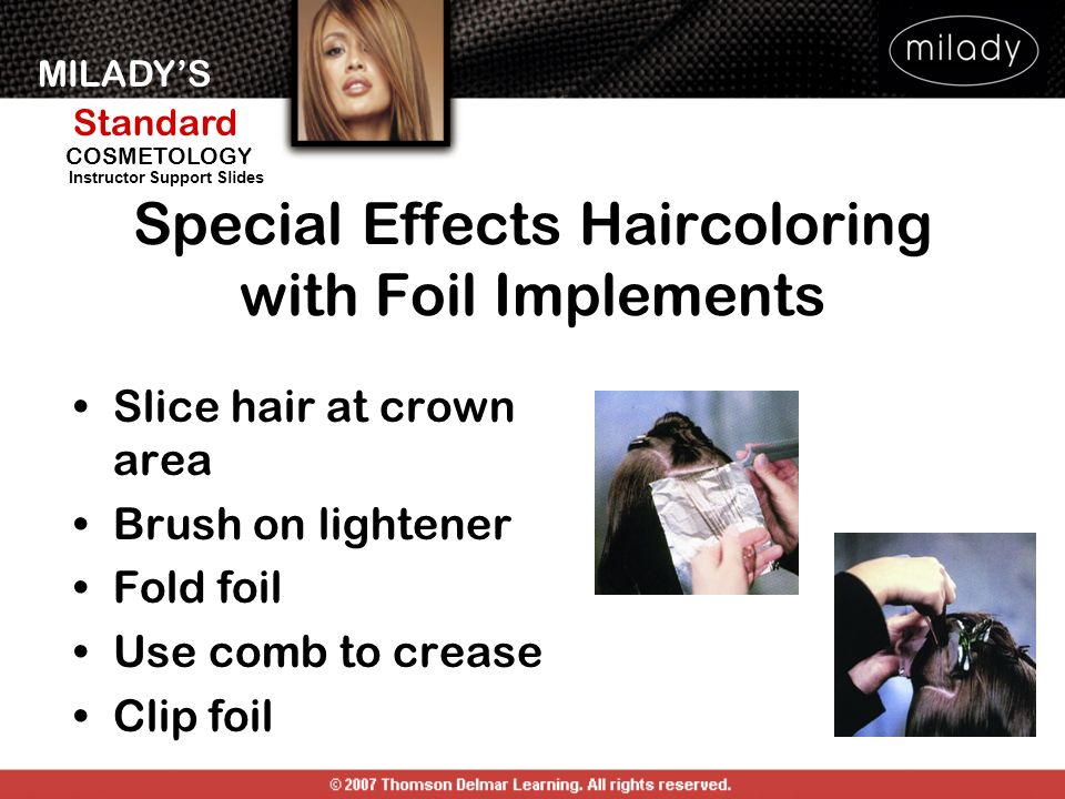 Haircoloring Special Effects Ppt Video Online Download