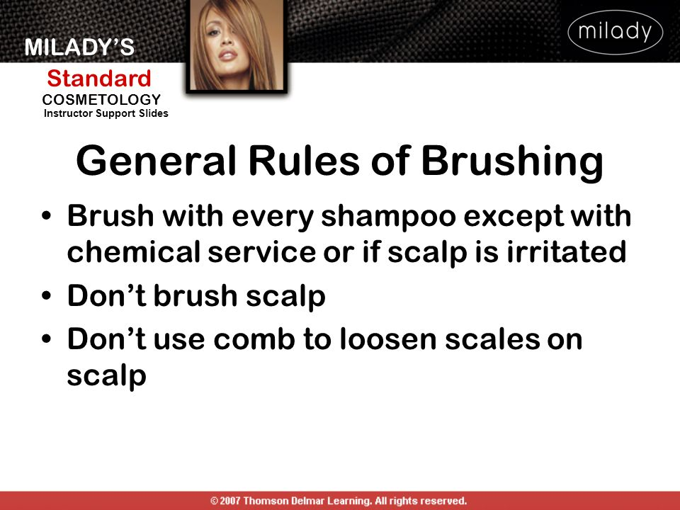 General Rules of Brushing