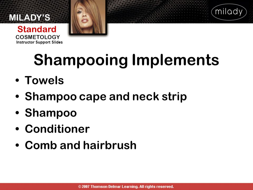 Shampooing Implements