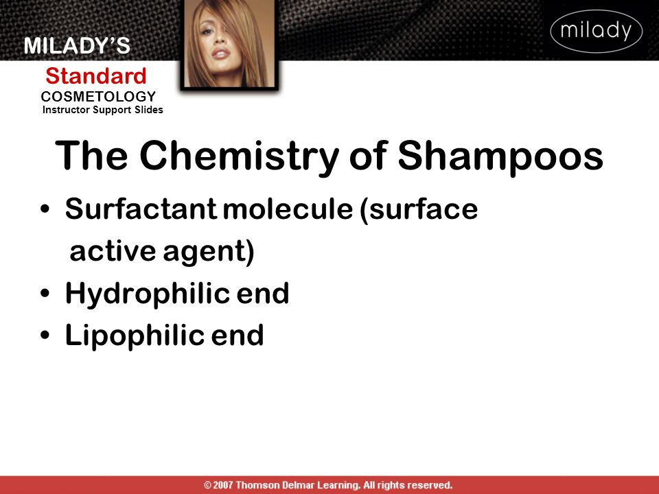 The Chemistry of Shampoos