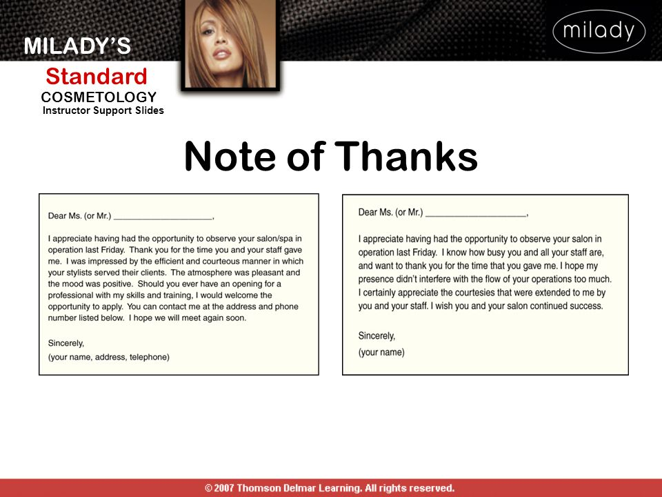 Note of Thanks NOTE OF THANKS: See Figures 30-12 and 30-13.