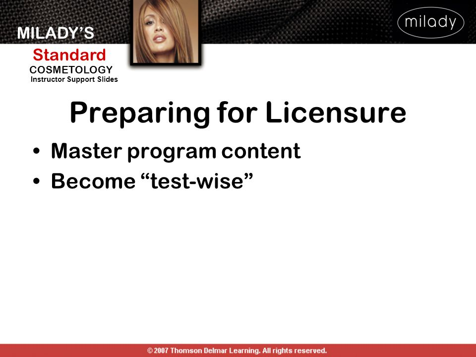 Preparing for Licensure