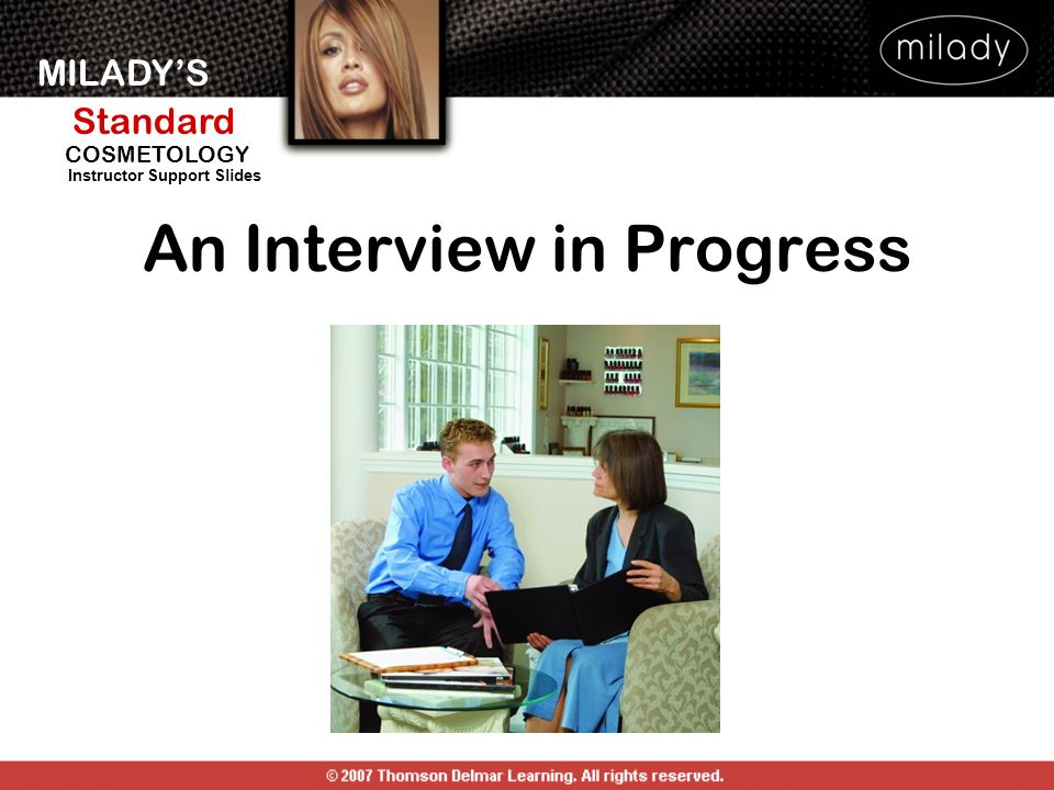 An Interview in Progress