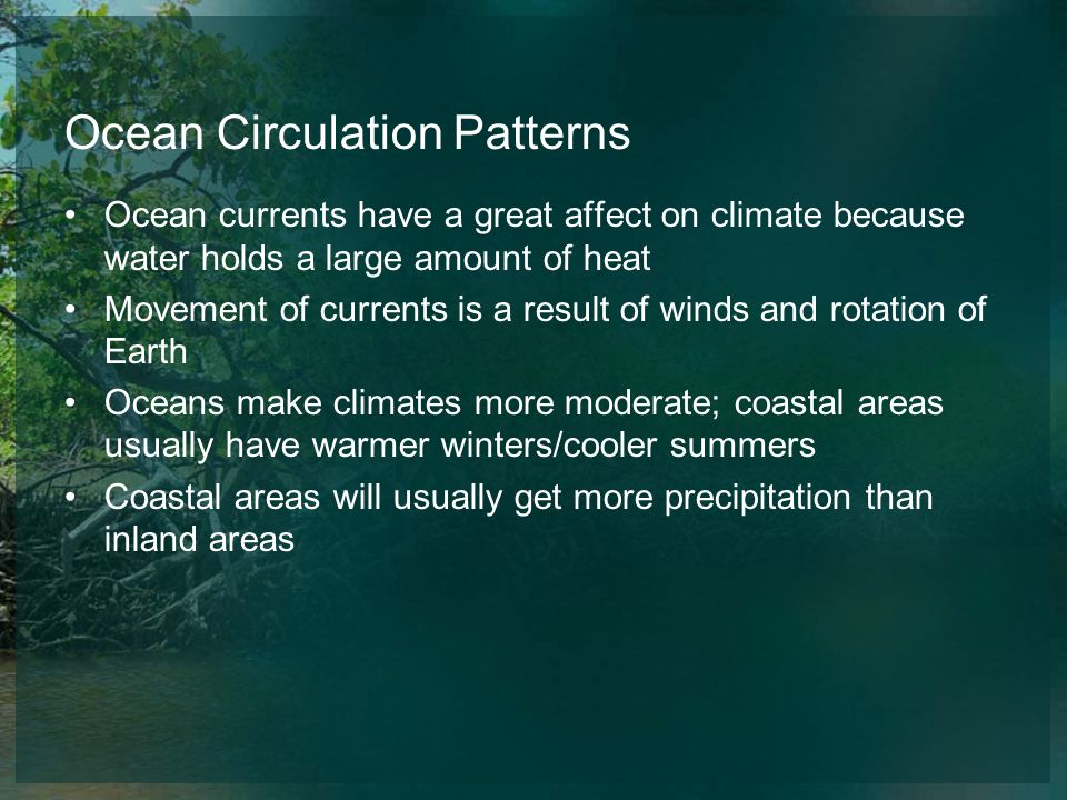 Ocean Circulation Patterns