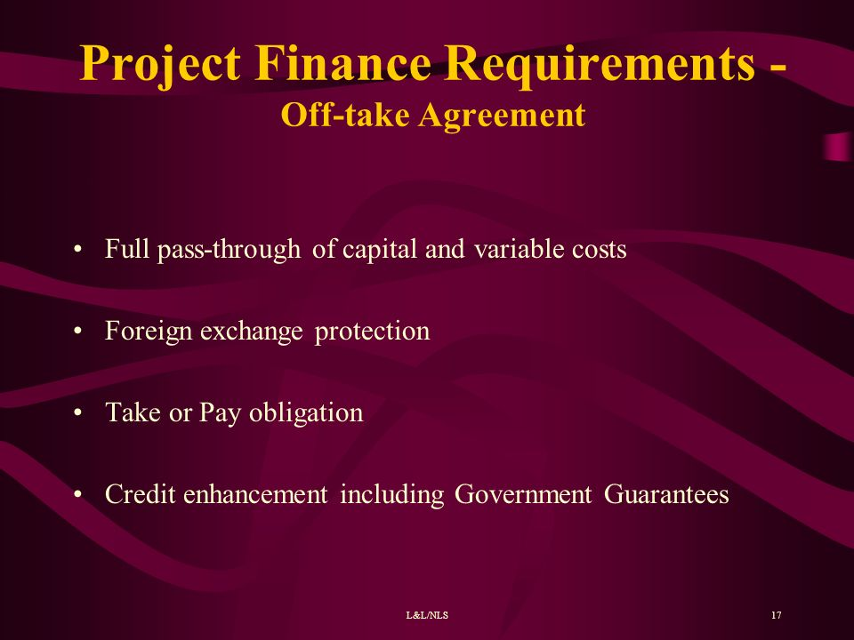 Financing Of Infrastructure Projects Ppt Video Online Download