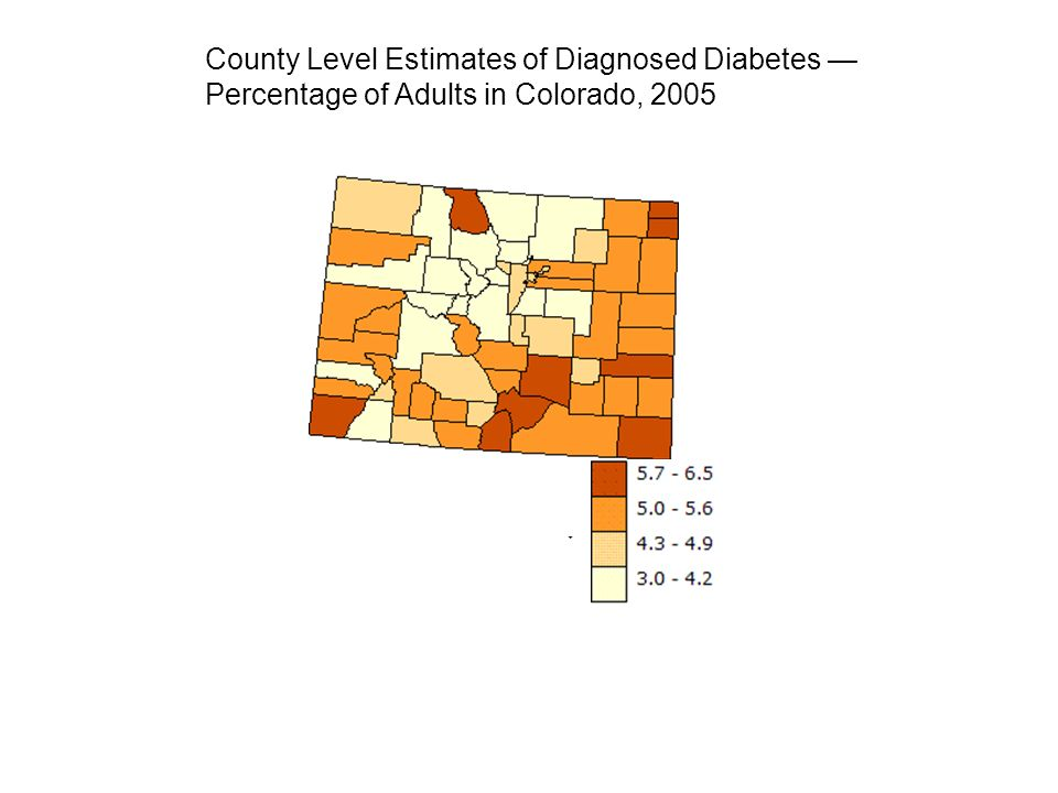 County Level Estimates of Diagnosed Diabetes —