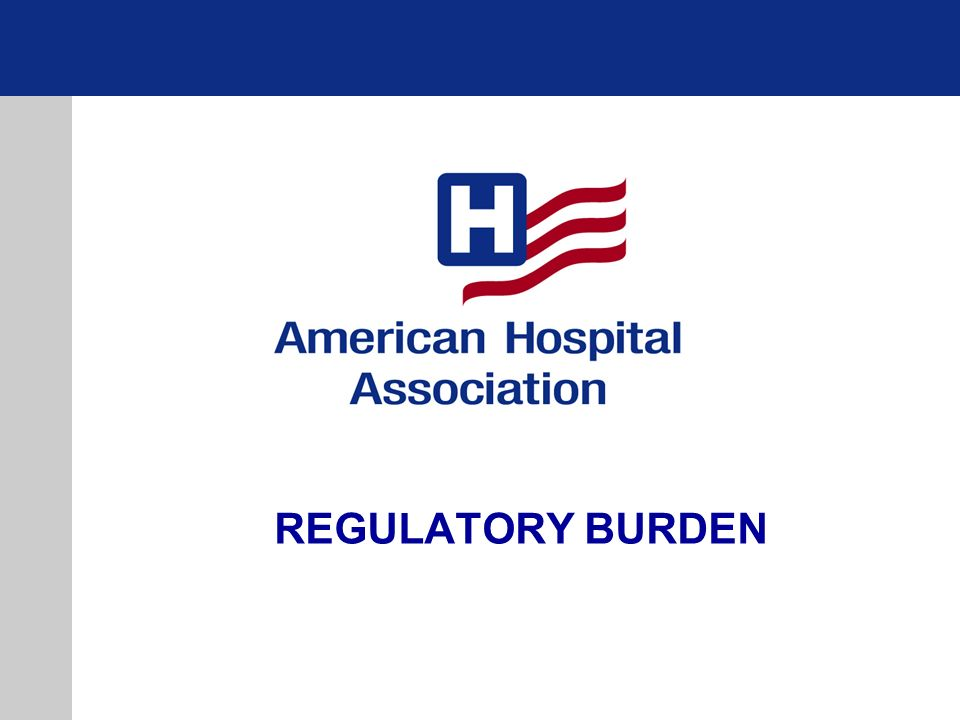 REGULATORY BURDEN