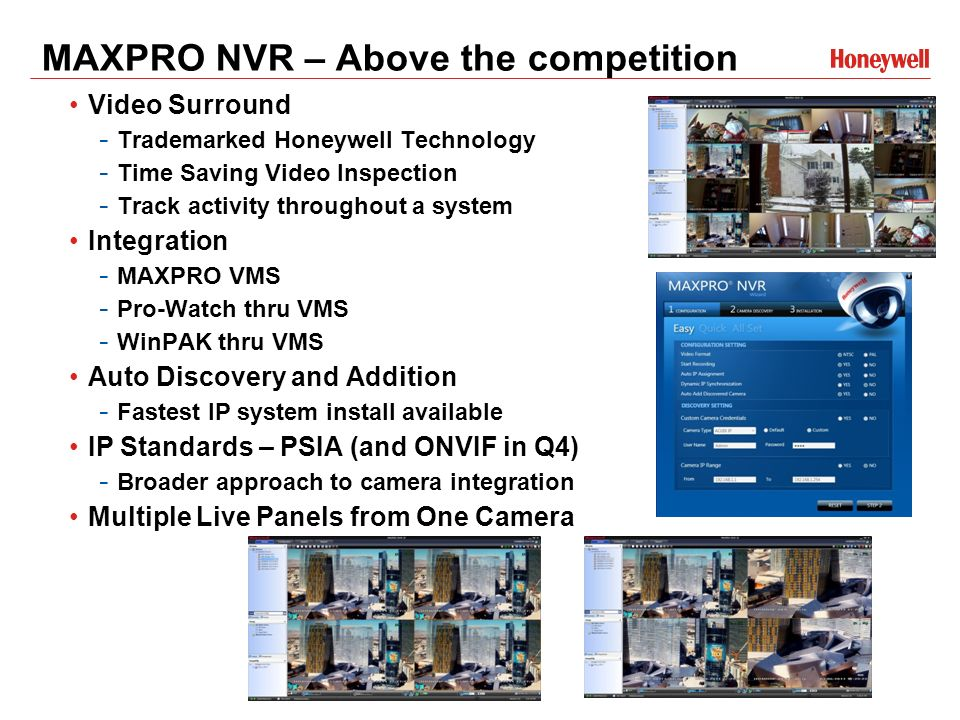 MAXPRO® NVR Series Technical Training - ppt video online