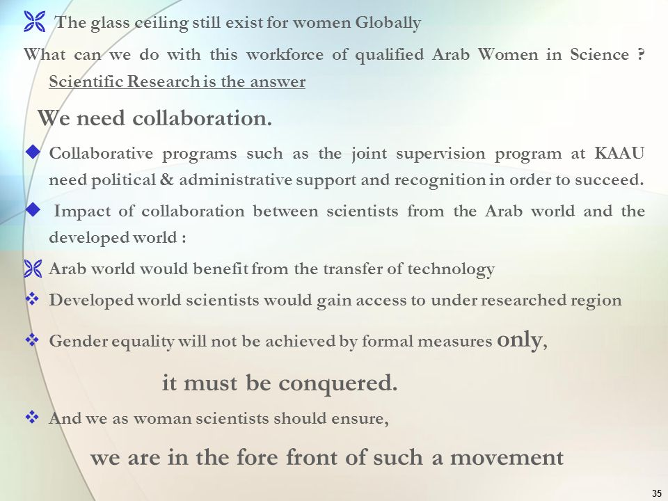 The glass ceiling still exist for women Globally