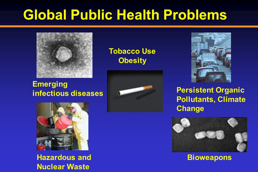 Global Public Health Problems