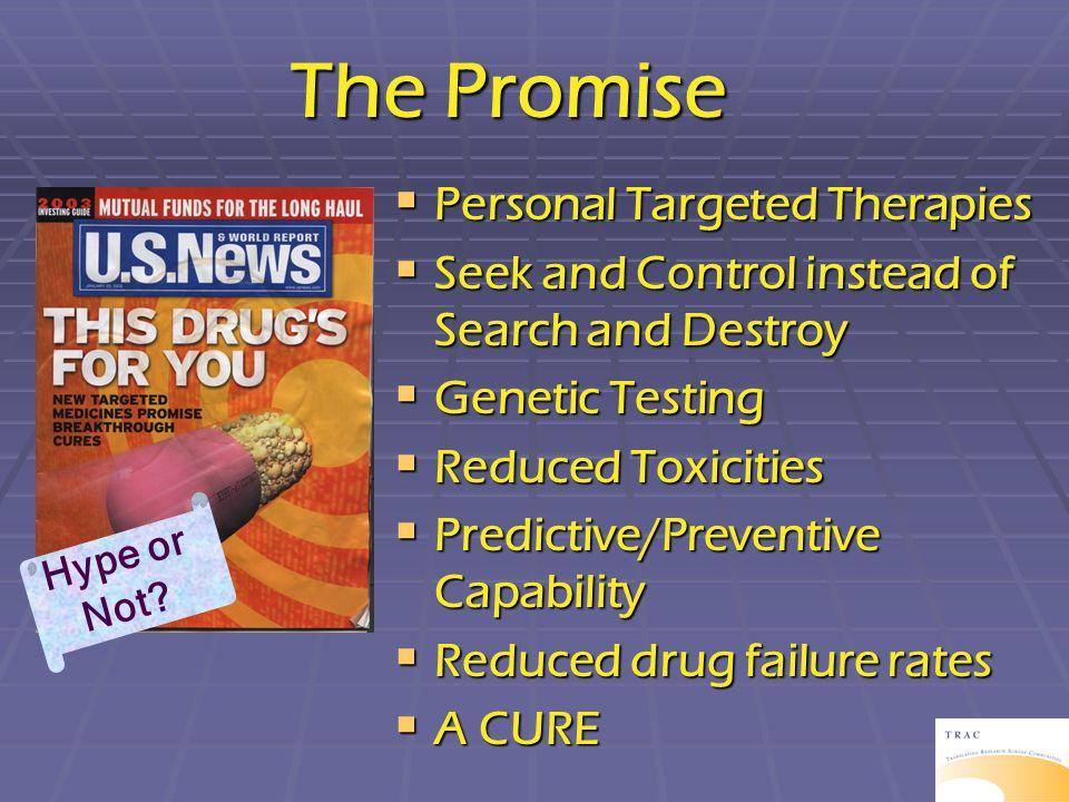 The Promise Personal Targeted Therapies