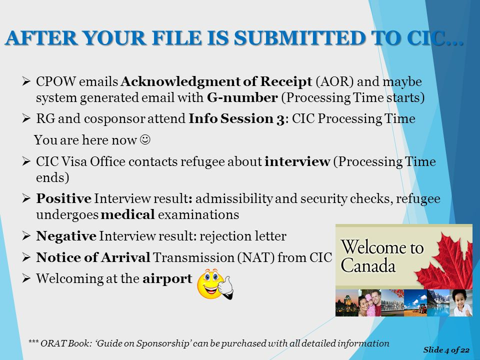 Info Session 3: CIC PROCESSING TIME - ppt download