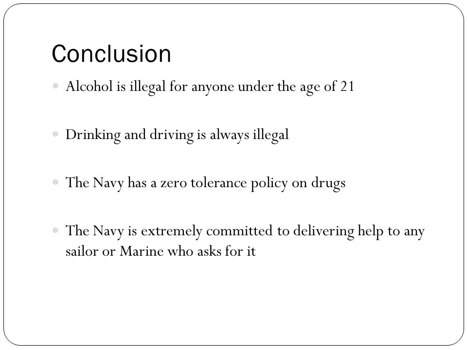 conclusion of alcohol abuse